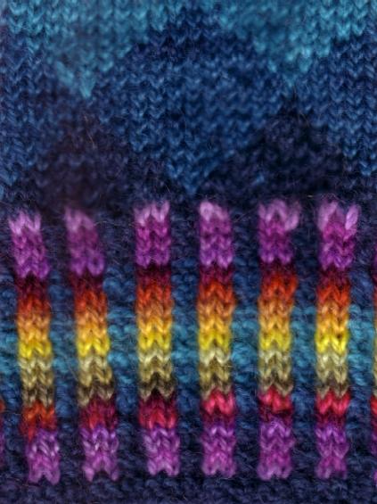 Knitting Ribbing : Maggie s rags knitting tips corrugated ribbing