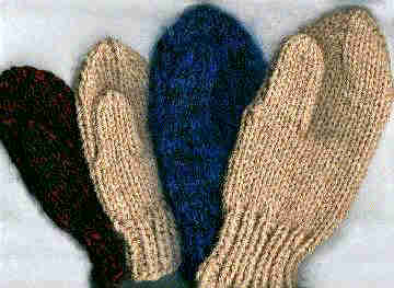 Easy 2-Way Mittens