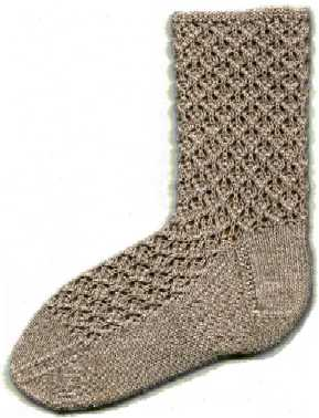 Free Knitting Pattern : Sock -Ease Thigh High Socks